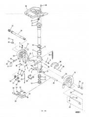 Схема КРОНШТЕЙНЫ (M-007186/ML-308701/E-101516/EL-404001 и выше)