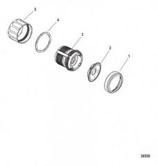 Схема Комплект переключателя «корпус-крышка-держатель» (879305A01)