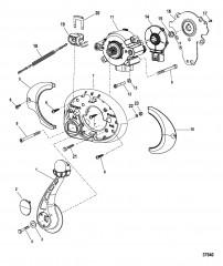 Дистанционное управление – DTS Панельное крепление – буксировочные спортивные (879304A01)