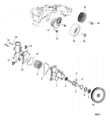 Схема Seawater Pump