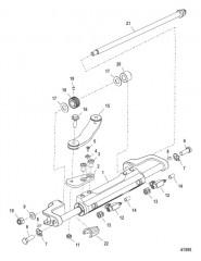 Цилиндр рулевого механизма в сборе (898349A15)