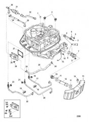 Схема Прокладка шлангов переходной пластины