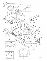 Модели Quicksilver Air Deck Белый (2009/2010)