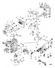 Схема Комплект удлинителя – 5 Корпус ведущего вала (12092A20)
