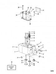 Схема Головка цилиндра (3.6L)