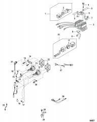 Электрические компоненты Выпрямитель– 0R721384 и выше