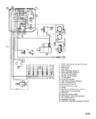 Электропроводка двигателя