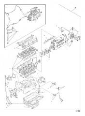 Схема Комплект для технического обслуживания – набор прокладок КАПИТАЛЬНЫЙ РЕМОНТ ДВИГАТЕЛЯ