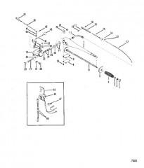 Схема Рукоятка рулевого механизма в сборе