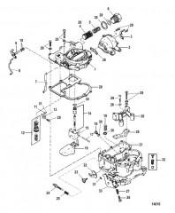 Схема Карбюратор (Mercarb)