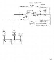 Схема электрических подключений (Модель 767) (24 В)