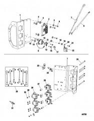 Схема Электрическая панель Компоненты