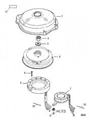 Схема Flywheel and Stator (Electric)