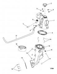 Выхлопная система Промежуточная труба и коленчатый патрубок