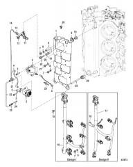 Схема Пластина катушки