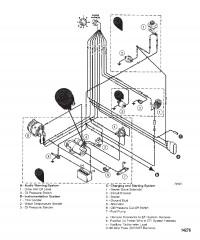 Схема Жгут электропроводки (Двигатель)