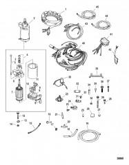 Комплект преобразования электрического пуска (822462A 4)