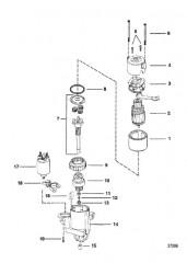 Схема СТАРТЕР 8 (PG 260) 2-7/8 В ДИАМ. – КОЛПАЧОК