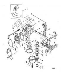 Схема КАРБЮРАТОР (WMC-13/13A/14/14A/15/15A/16/16A)