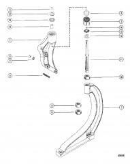 Схема Передний кронштейн в сборе (MCM)