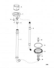 Выносной масляный фильтр Комплект вспомогательного оборудования 861480A 1