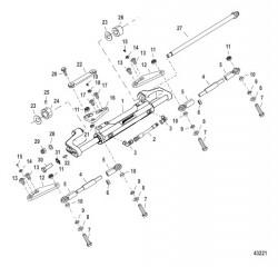 Комплект тяги – строенный (892789Q32 -Q34) 26-30