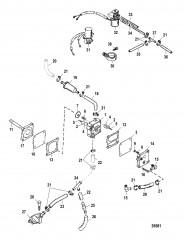 Схема Топливный насос Электрич.