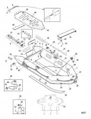 Модели Air Deck Белый/светло-серый (2009-2010)