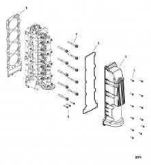 Головка цилиндра и крышка распределительного вала