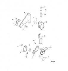 Компоненты кабельного рулевого привода (Сухой поддон) конструкция II