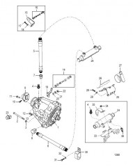 Схема Transmission and Related Parts (BORG-WARNER 71C &72C)