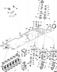 Электрическая панель в сборе 0M973453 и выше
