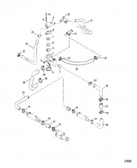 Схема Корпус термостата (425)