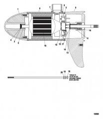 Схема Нижний блок в сборе (46# – с регулировкой скорости до 5) (MEF397072)