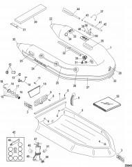 Надувные лодки Dynamic из ПВХ – 260/280/310 (Quicksilver 2006/08)