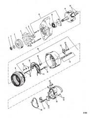 Схема ГЕНЕРАТОР (MANDO) №AR – 150