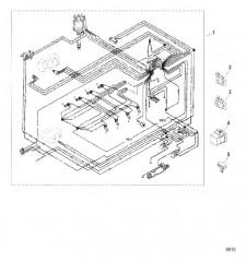 Схема Жгут проводов в сборе (Провода EFI)