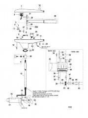 Двигатель для тралового лова в сборе (Модель 660V) (24 В)