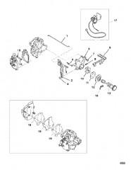 Схема Тяга карбюратора