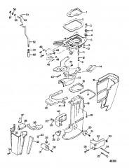 Схема Ножка двигателя