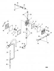 Схема Топливный насос (Вручн.)
