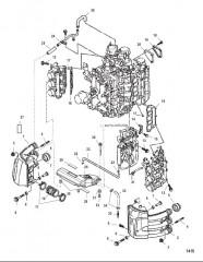 Схема Шумопоглотитель на впуске