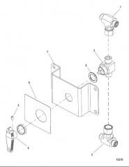 Комплект гидравлической тяги (893396A01/A02)
