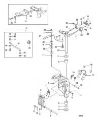 Схема Swivel Bracket Non-Power Tilt