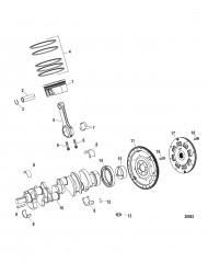 Комп. двигателя (Коленчатый вал / поршни / шатуны) NXT1