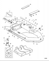 Схема Модели Roll Up (Светло-серый Lodestar)