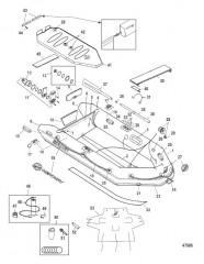 Схема Модели Mercury Air Deck