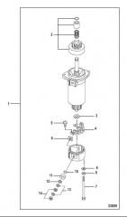 Схема Starter Motor Components