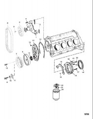 Схема Water Pump and Front Cover