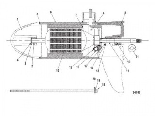 Нижний блок в сборе (38# – с регулировкой скорости до 5/2) (M899415T)